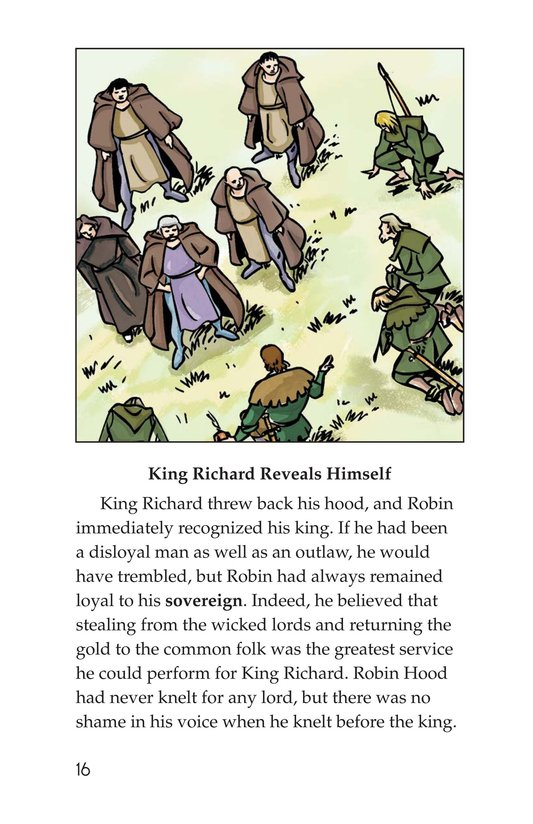 Book Preview For Robin Hood and the King Page 16