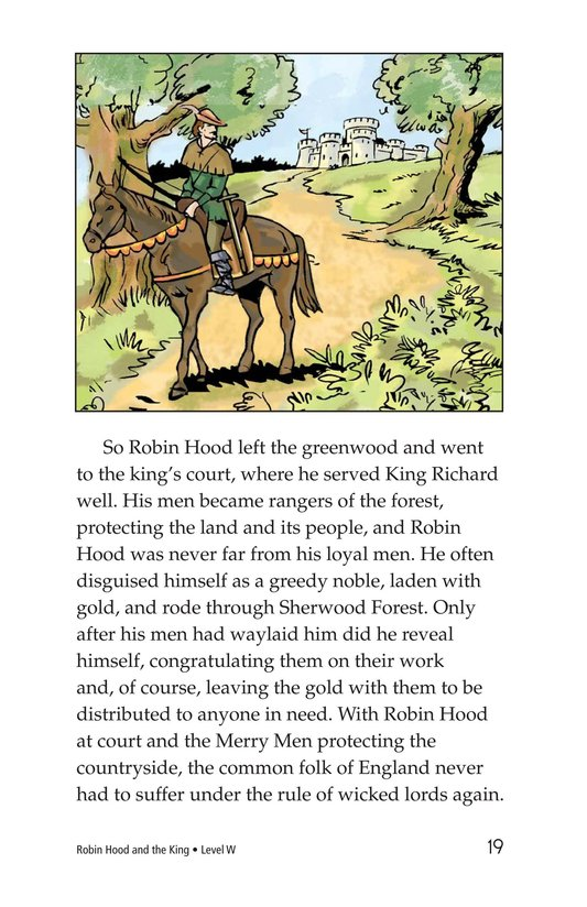 Book Preview For Robin Hood and the King Page 19