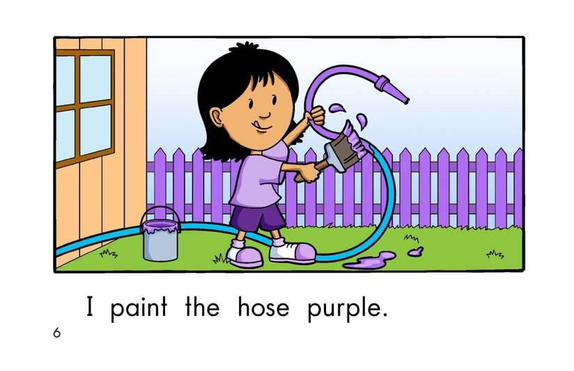 Book Preview For Paint It Purple Page 6