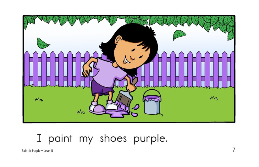 Book Preview For Paint It Purple Page 7