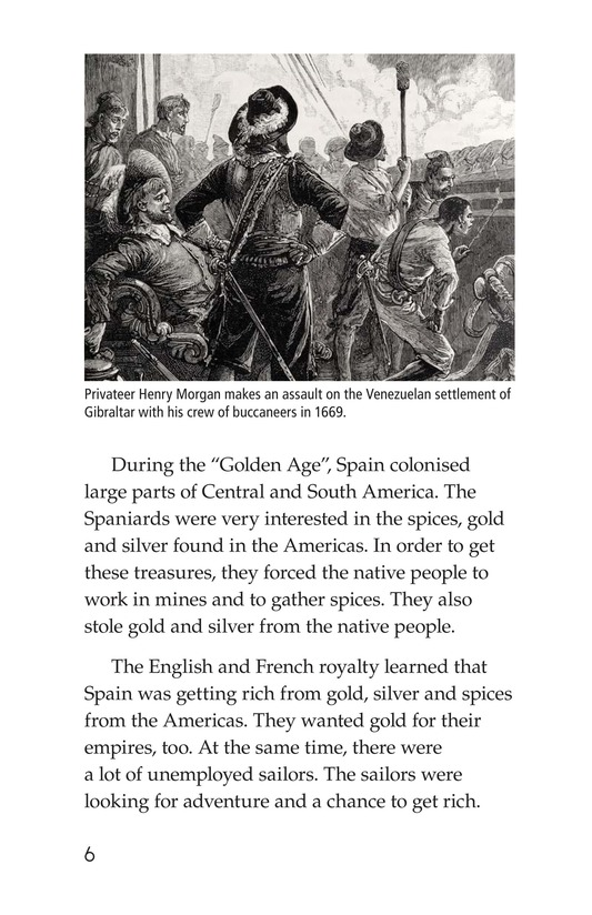 Book Preview For Pirates and Privateers Page 6