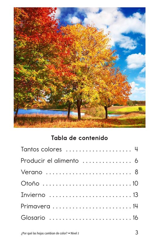Book Preview For Why Do Leaves Change Color? Page 3