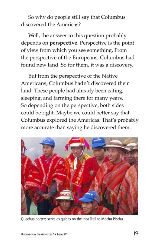 Book Preview For Discovery in the Americas? Page 19
