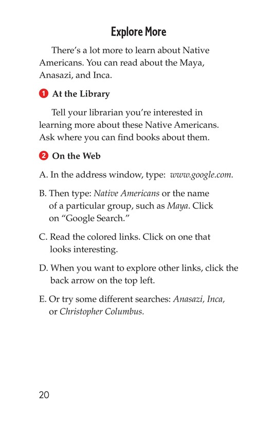 Book Preview For Discovery in the Americas? Page 20