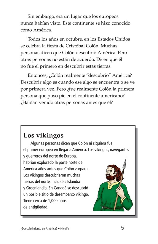 Book Preview For Discovery in the Americas? Page 5