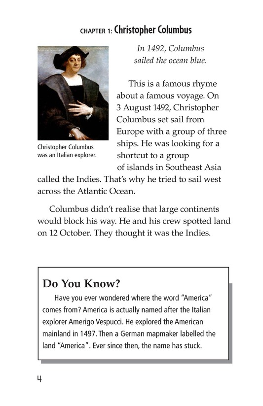 Book Preview For Discovery in the Americas? Page 4