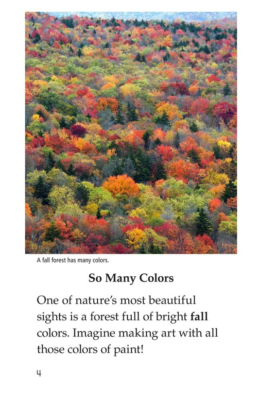 Book Preview For Why Do Leaves Change Color? Page 4