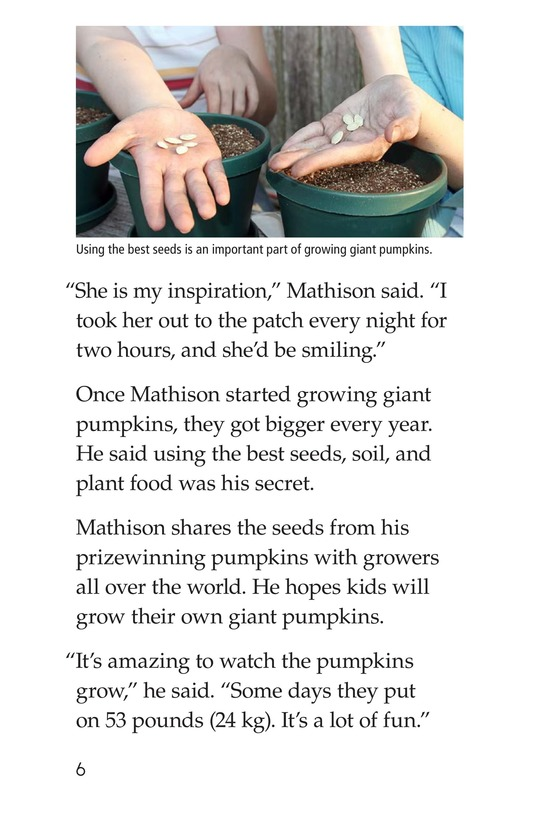 Book Preview For Giant Pumpkins Page 6