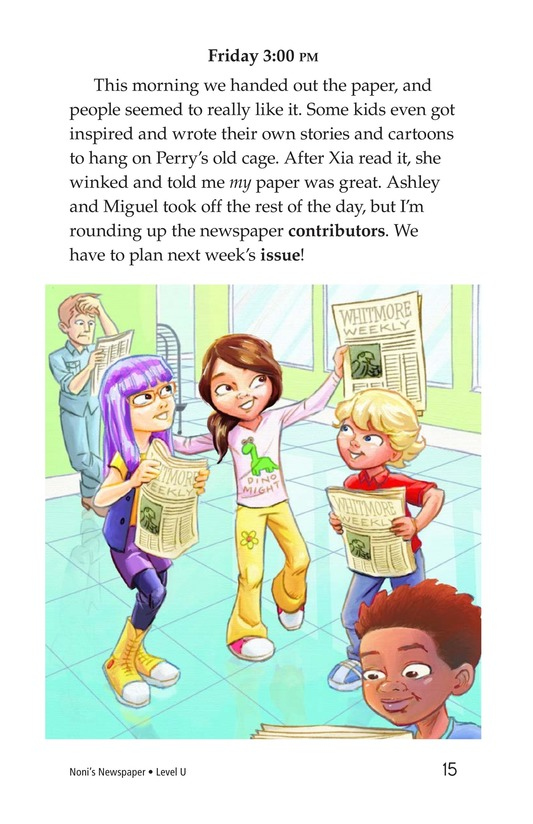 Book Preview For Noni's Newspaper Page 15