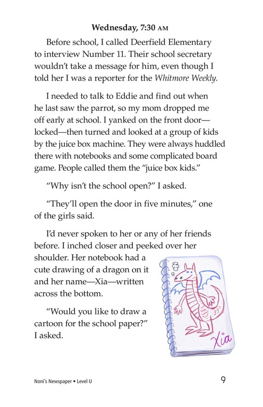 Book Preview For Noni's Newspaper Page 9