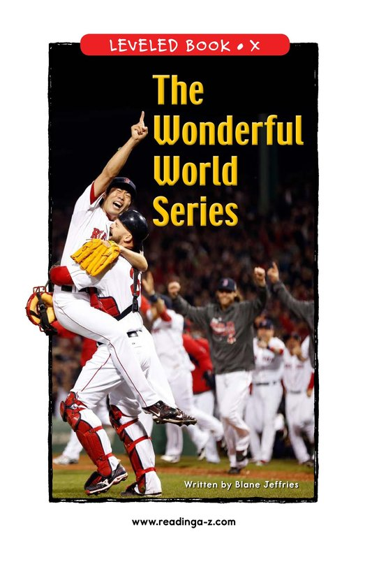 Book Preview For The Wonderful World Series Page 1