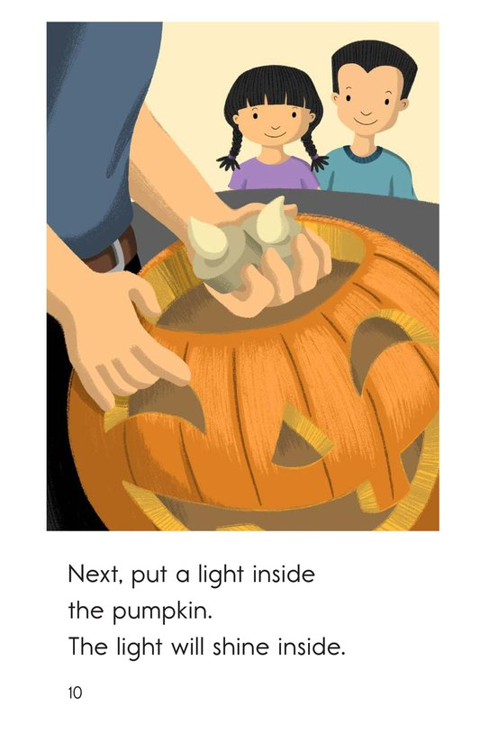 Book Preview For Let's Carve a Pumpkin Page 10