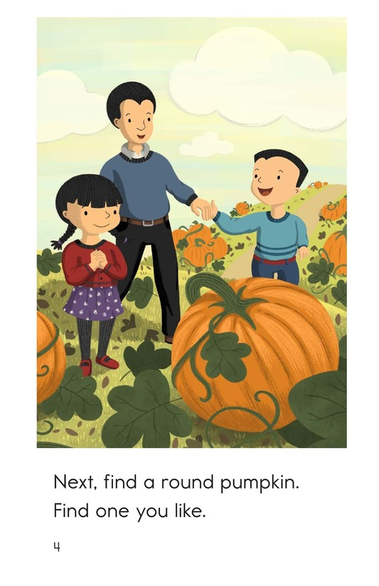 Book Preview For Let's Carve a Pumpkin Page 4