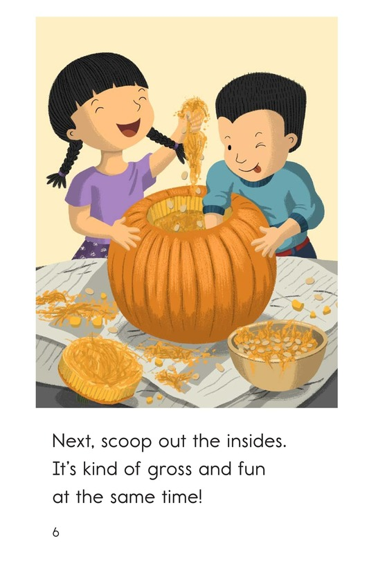 Book Preview For Let's Carve a Pumpkin Page 6