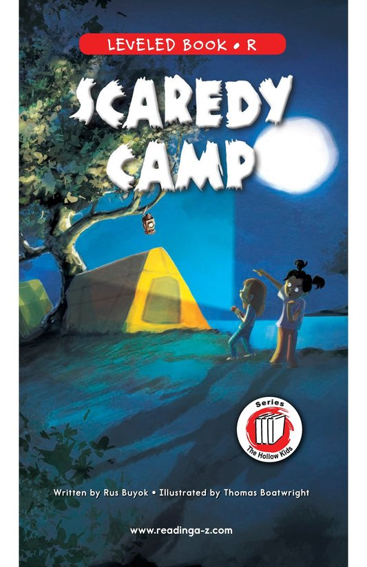 Book Preview For Scaredy Camp Page 1