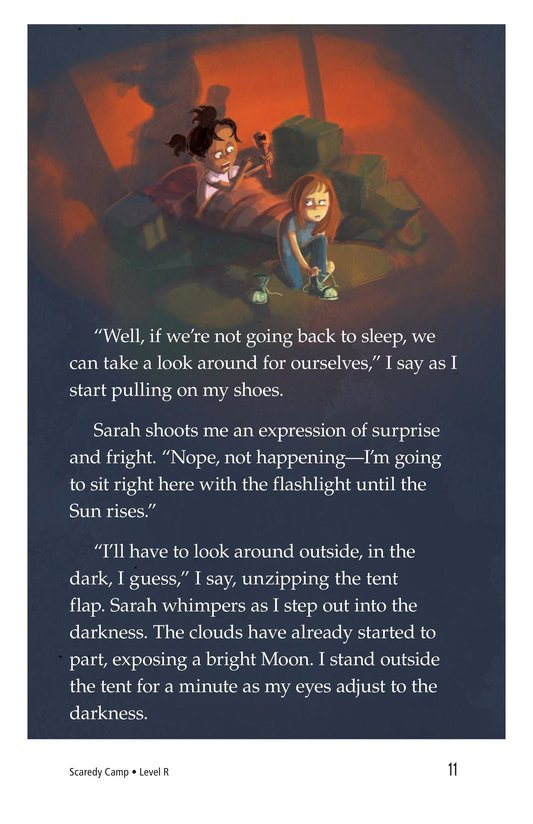 Book Preview For Scaredy Camp Page 11