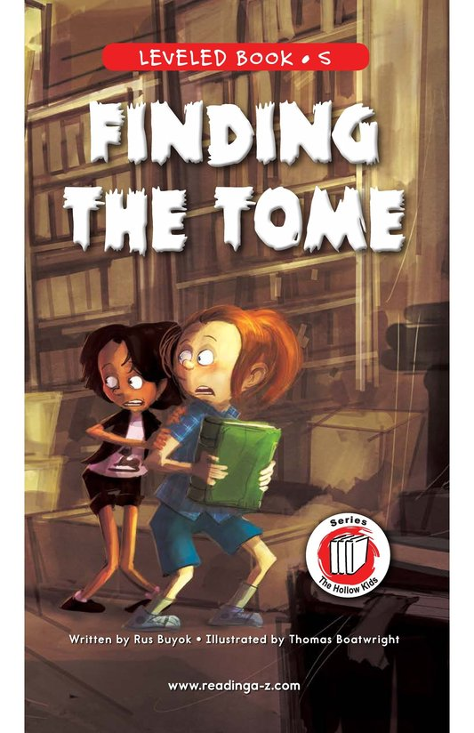 Book Preview For Finding the Tome Page 1