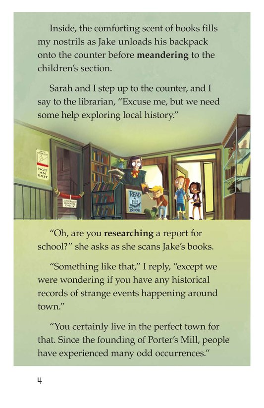Book Preview For Finding the Tome Page 4