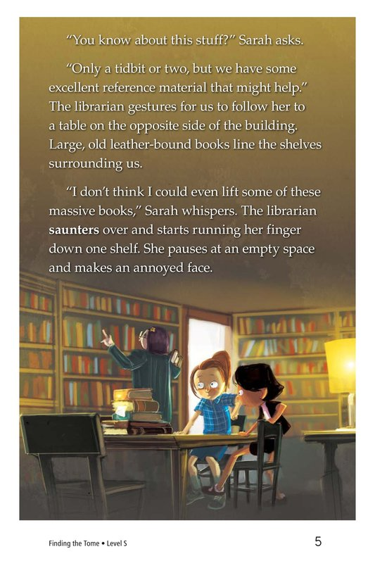 Book Preview For Finding the Tome Page 5