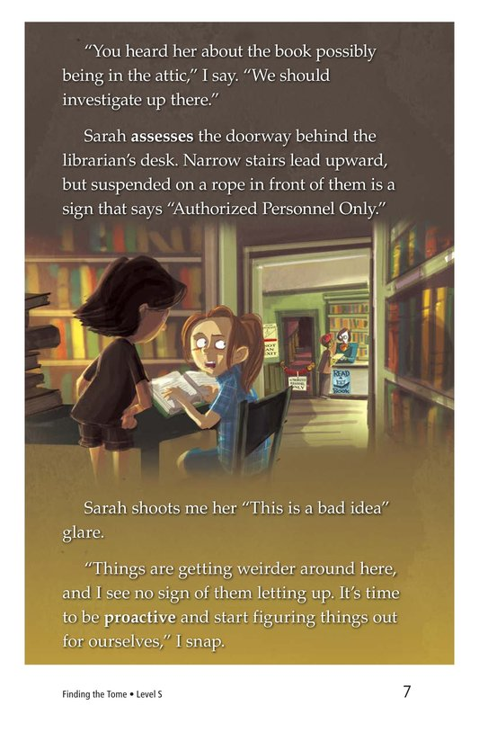Book Preview For Finding the Tome Page 7