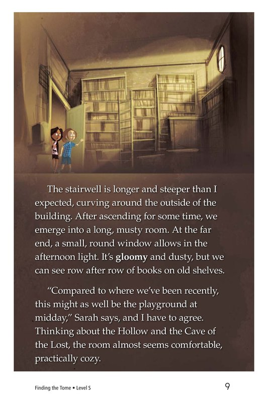 Book Preview For Finding the Tome Page 9