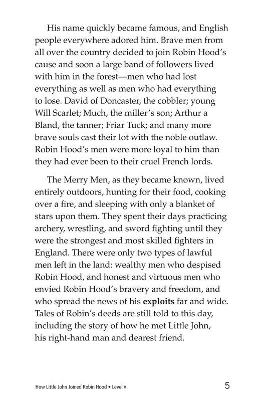 Book Preview For How Little John Joined Robin Hood Page 5