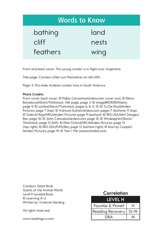Book Preview For Condors: Giant Birds Page 17