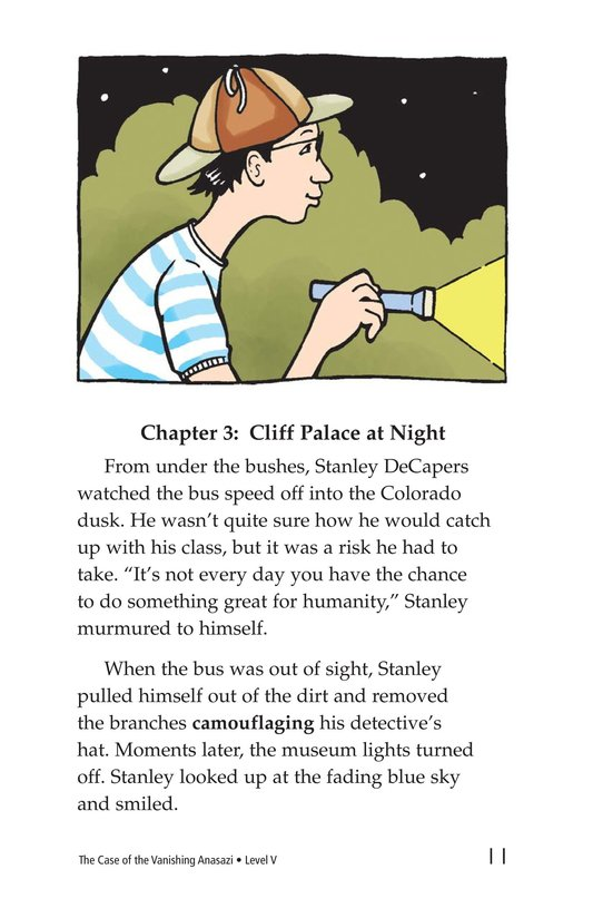 Book Preview For The Case of the Vanishing Anasazi Page 11