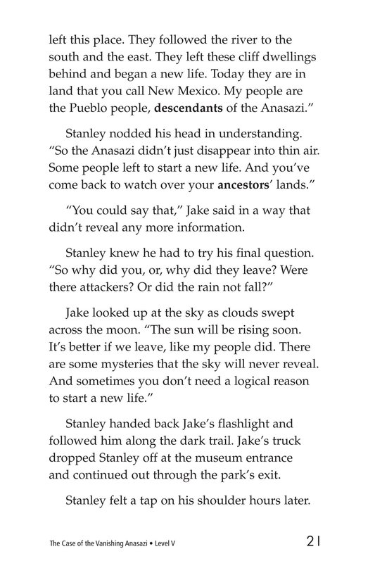 Book Preview For The Case of the Vanishing Anasazi Page 21