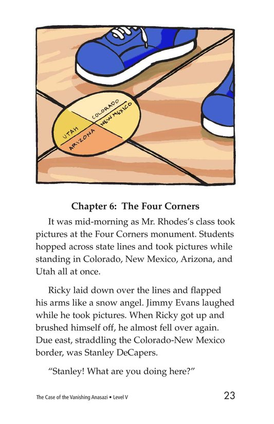 Book Preview For The Case of the Vanishing Anasazi Page 23