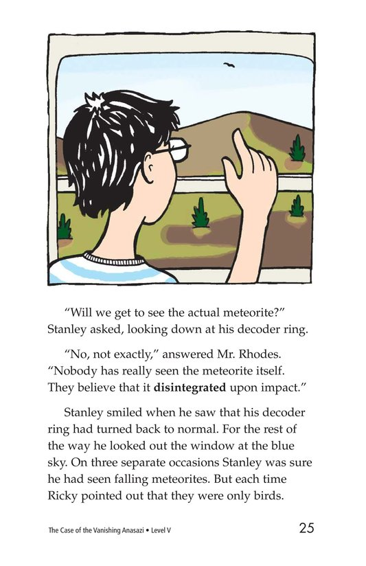 Book Preview For The Case of the Vanishing Anasazi Page 25