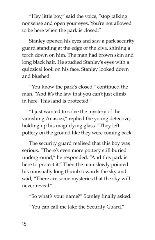 Book Preview For The Case of the Vanishing Anasazi Page 16