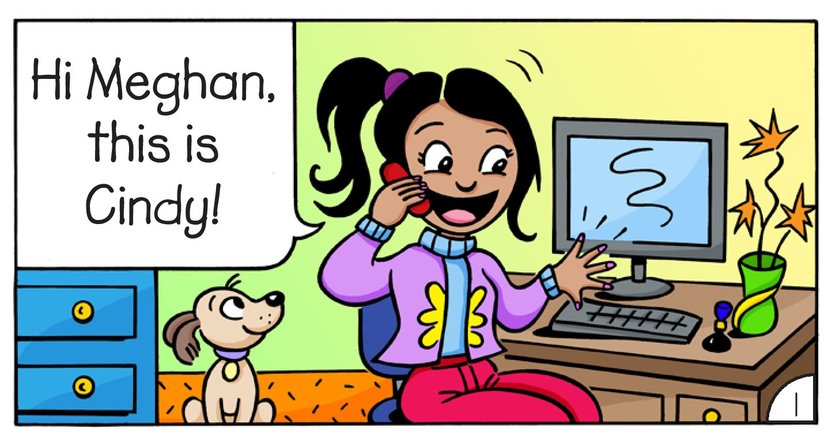 Book Preview For Meghan and Cindy: The Cell Phone Page 3