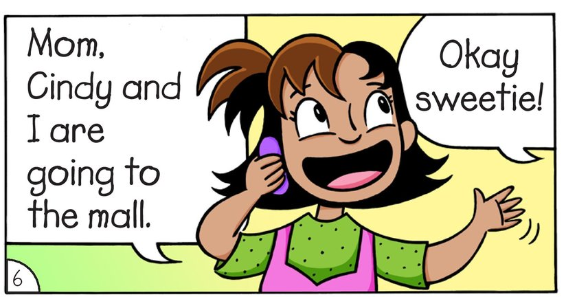 Book Preview For Meghan and Cindy: The Cell Phone Page 8