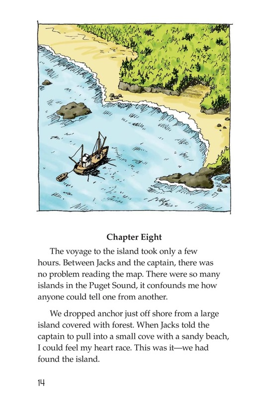 Book Preview For Treasure in Puget Sound Page 14
