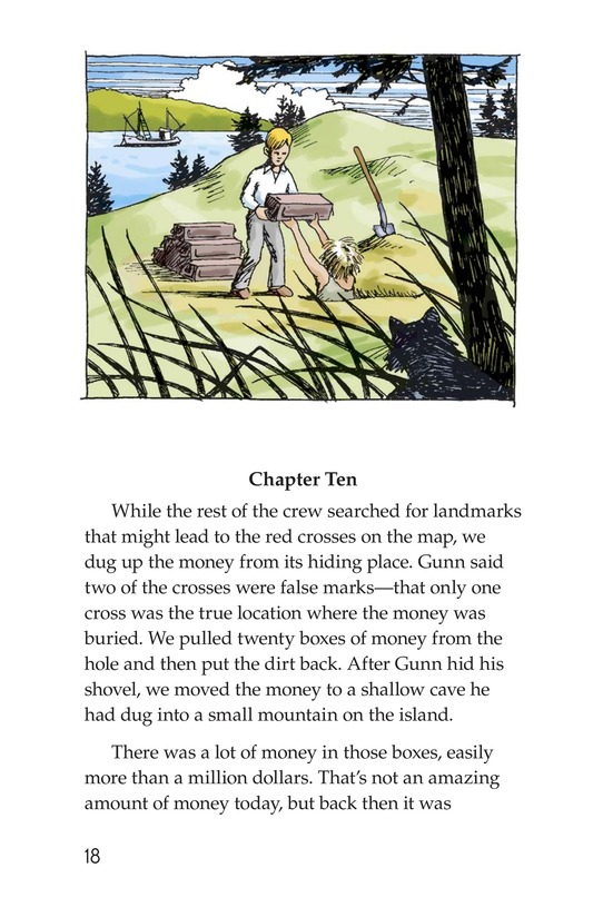 Book Preview For Treasure in Puget Sound Page 18