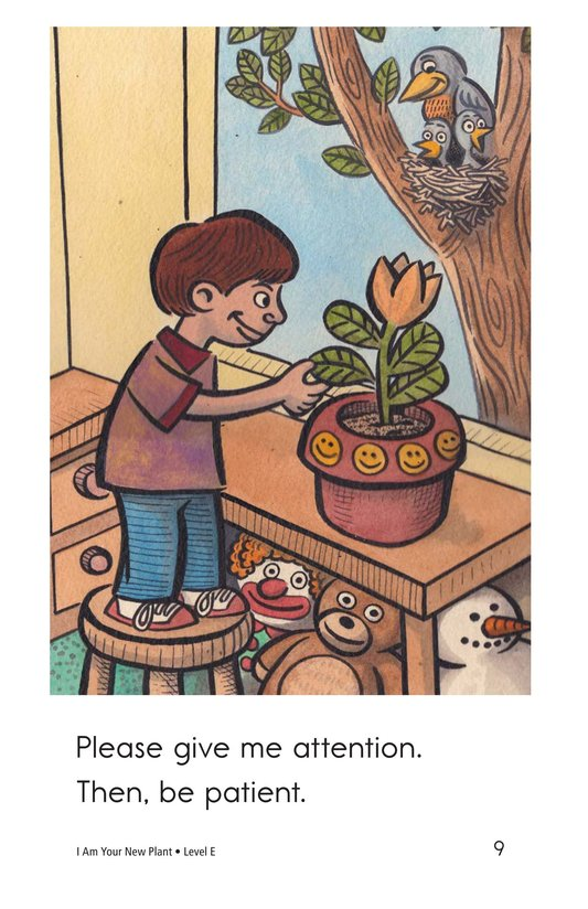 Book Preview For I Am Your New Plant Page 9