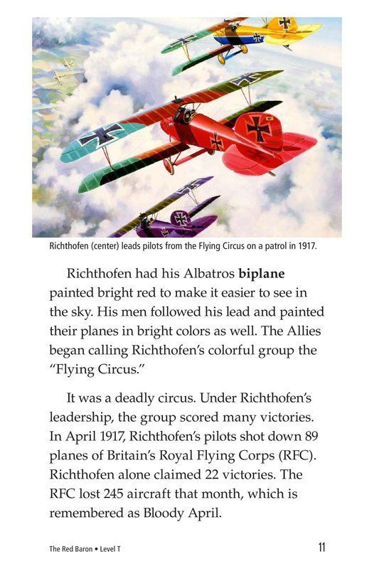 Book Preview For The Red Baron Page 11