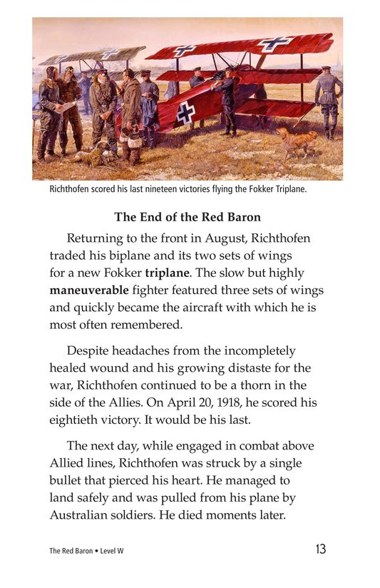 Book Preview For The Red Baron Page 13