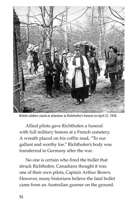 Book Preview For The Red Baron Page 14