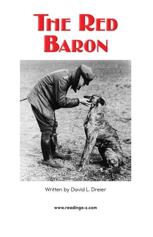 Book Preview For The Red Baron Page 2