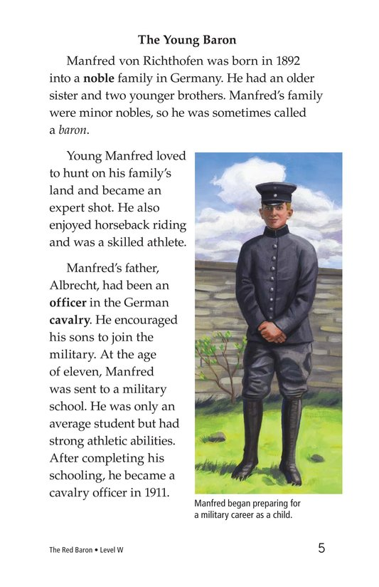 Book Preview For The Red Baron Page 5