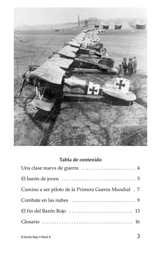 Book Preview For The Red Baron Page 3