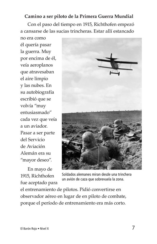 Book Preview For The Red Baron Page 7