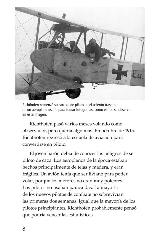 Book Preview For The Red Baron Page 8