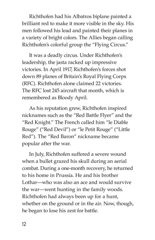 Book Preview For The Red Baron Page 12