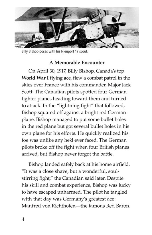 Book Preview For The Red Baron Page 4