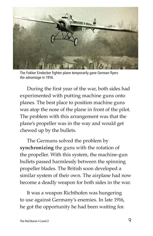 Book Preview For The Red Baron Page 9