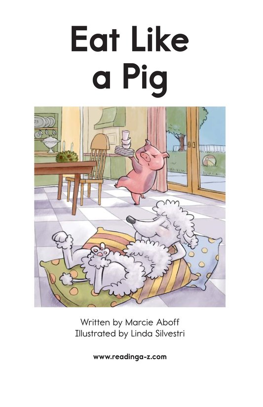 Book Preview For Eat Like a Pig Page 2