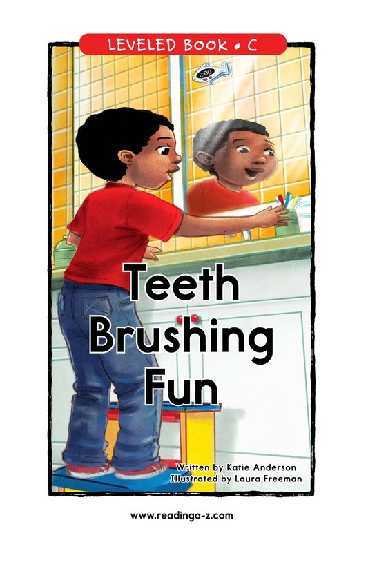Book Preview For Teeth Brushing Fun Page 1